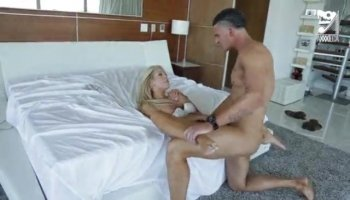 Cassidy Michaels bends over and fucked from behind